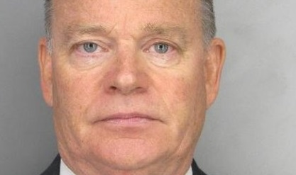 The Contra Costa Sheriff released this mugshot of former Contra CostaDistrict Attorney Mark Allen Peterson Thursday.