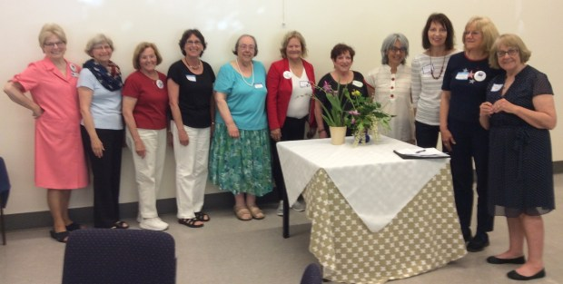 League of Women Voters of Diablo Valley 2017-2018 board members include, from left, Audrey Albrecht, membership; Ann Flynn, immediate past president; Carole Woods, program; Marian Shostrom, voter's edge chair; Leslie Stewart, communications; Lee Lawrence, action; Barbara Coenen, office manager; Carol Murota, vice president; Barbara Kuklewicz, secretary; Suzan Requa and Martha Goralka, co-presidents. Not pictured: Barbara Hill, treasurer; and Sue Brandy, director at large. Visit www.lwvdv.org for more information.
