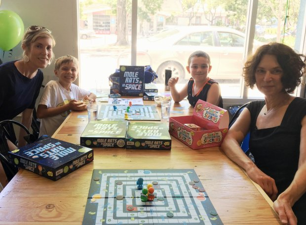 Rachel Sunday/Peaceable KingdomThe cooperative game from Berkeley-based Peaceable Kingdom is designed for younger kids as well as adults.