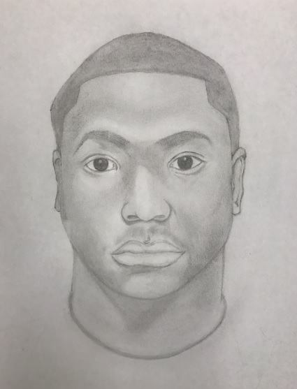 Oakland police released this image Thursday, July 27, 2017 of a sketch representing a person of interest sought in connection with the December 2013 homicide of Lee Weathersby III and January 2014 homicides of Lamar Broussard and Derryck Harris.