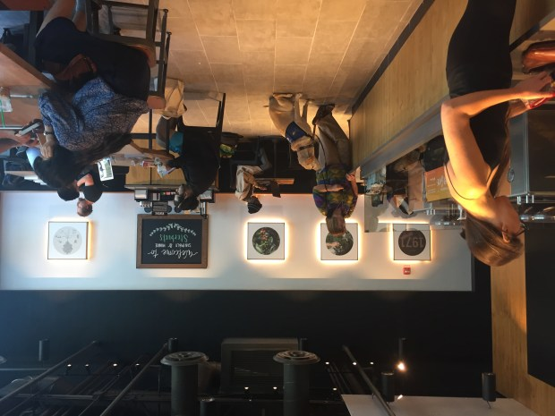 The inside of the new Albany Starbucks store is seen on Aug. 17, 2017. (Tom Lochner)