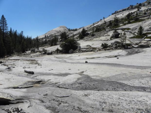 Igor Skaredoff made this image of the granite surfaces near Yellowhammer Lake as he was trying to find his way back to his fellow hiker/campers.