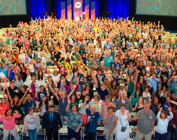 More than 500 educators were at the third annual California Teachers Summit held at Saint Mary's College in Moraga. (Courtesy of Ernie Holly)