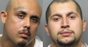 Ignacio Sanchez, left, and Jose Maravilla were arrested in connection with a Sept. 10 San Pablo homicide. (San Pablo Police Department)