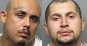 Ignacio Sanchez, left, and Jose Maravilla were arrested in connection with a Sept. 10 San Pablo homicide. (San Pablo Police Department)