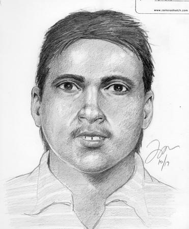 San Ramon police released this forensic sketch image Sunday, October 22, 2017 of a suspect sought in connection with an incident earlier this month.
