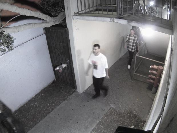 University of California police released this image Monday, October 2, 2017 of one of three suspects sought in connection with a weekend assault on a student at a UC Berkeley campus dormitory.