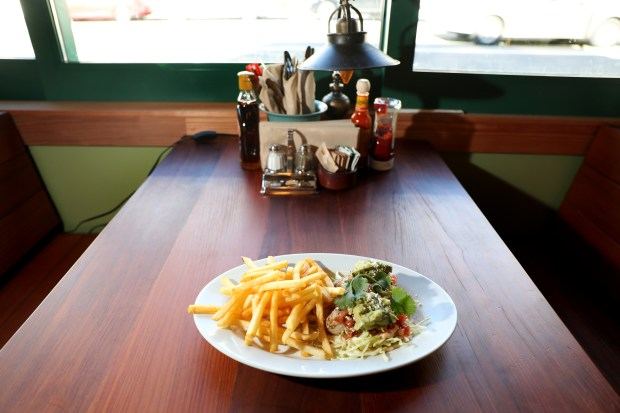 Fish tacos are one of the many menu items served at the new Chow Oakland Cafe, Bakery & Market on Piedmont Avenue. (Ray Chavez/Bay Area News Group)
