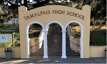 Tamalpais High School. (Photo by Thomas Dahlke)