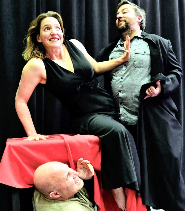 "courtesy of Sue JerecyzkKim Donovan and David Ghilardi will star in the B8 Theatre Company's April 5-21 production of ""Tartuffe"" in Concord."