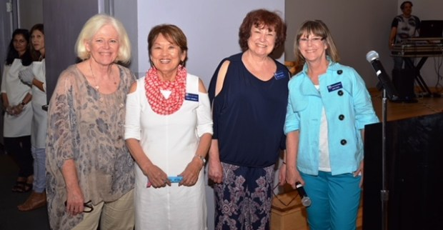 San Ramon Senior FoundationAppearing together recently are San Ramon Senior Foundation members, from left, Jennifer Moffat, secretary; Yaeko Kennelly, former secretary; Carol Nielsen, president; and Mary Davis, vice president.