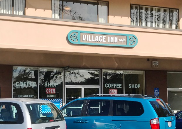 The Village Inn Cafe in Orinda is drawing crowds again after reopening in March under new ownership. (Jon Kawamoto/Bay Area News Group)