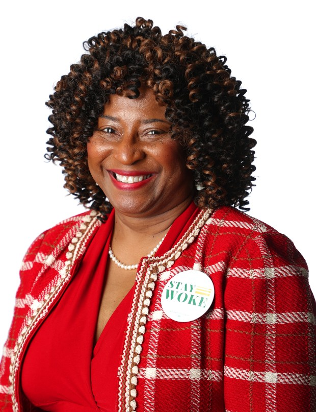 Pamela Price candidate for Alameda County District Attorney is photographed on Tuesday, April 3, 2018, in Oakland, Calif. (Aric Crabb/Bay Area News Group)