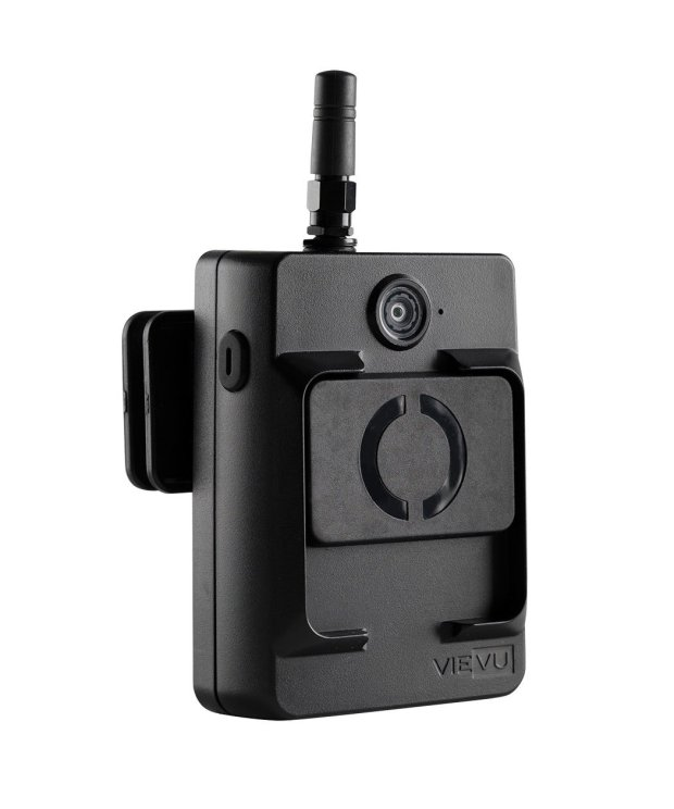 Newark's City Council voted unanimously to approve a $170,000, five-yearcontract with Seattle-based Vievu for 65 new body-worn cameras for its police department. This photo shows the Vievu LE5 body-worn camera, the model the department will use. (Photo courtesy of Safariland LLC)
