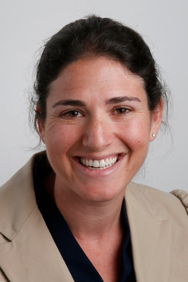 Rebecca Bauer-Kahan, a candidate for the16th Assembly District, is photographed, Wednesday, May 2, 2018, in Walnut Creek, Calif. (Karl Mondon/Bay Area News Group)