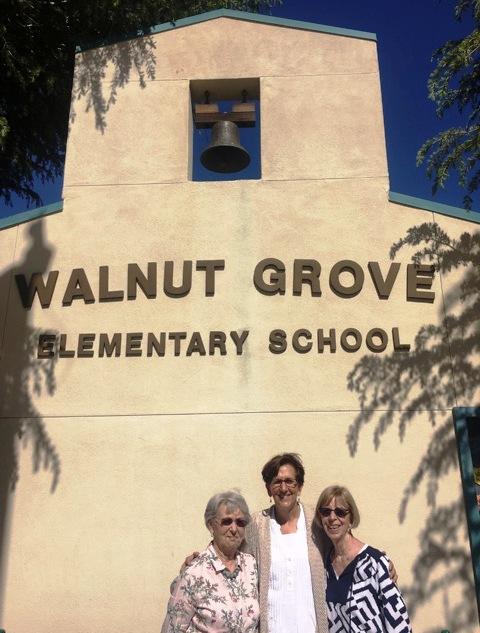 Amy Moellering/for Bay Area News GroupThese Walnut Grove Elementary School educators have a combined total of 97 years' teaching: Gail Frost, from left, Sara Walsh and Marilyn Auser.