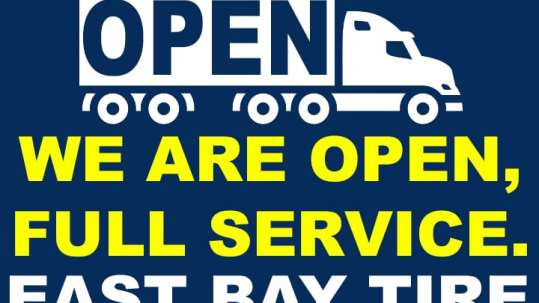 East Bay Tire is Fully Open
