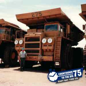 Joe Pehanick Sr. He is on a site visit at the Cyprus Copper Stone Gold Mine in Quartzsite, Arizona.