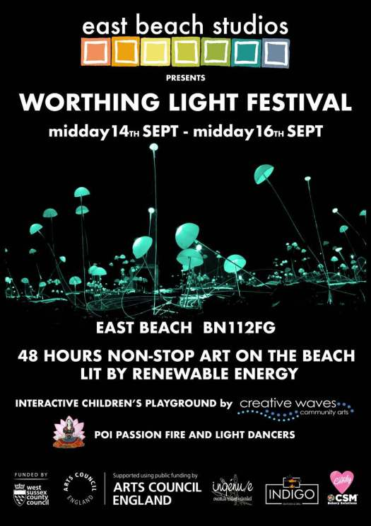 Worthing Light Festival 2018
