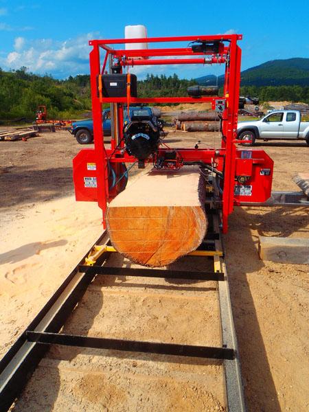 Custom Sawing - East Branch Timberworks