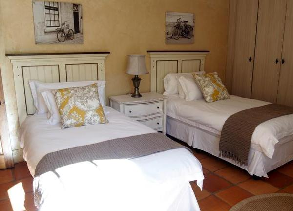 Winelands Package Avondrood Guest House Two Single Beds