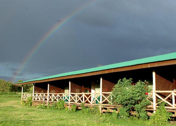 Ngorongoro Rhino Lodge Rainbow