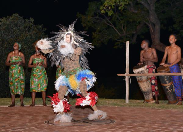 Victoria Falls Hotel Jungle Junction Mkishi Dancers