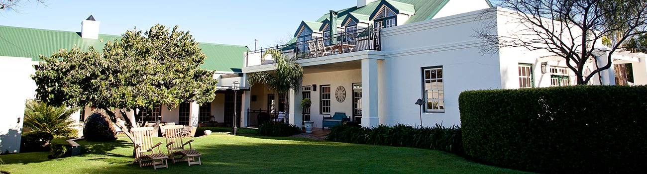 ECT Uk Luxury Garden Route Package header image Avondrood Guest House