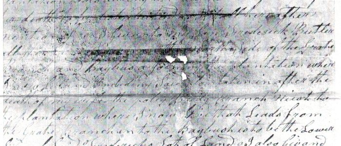 Will of Arthur Butler of Craven County, 1823