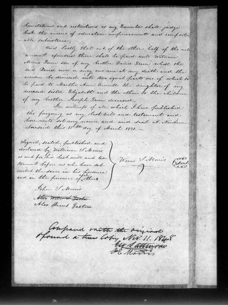 William S MORRIS, New Bern p2
