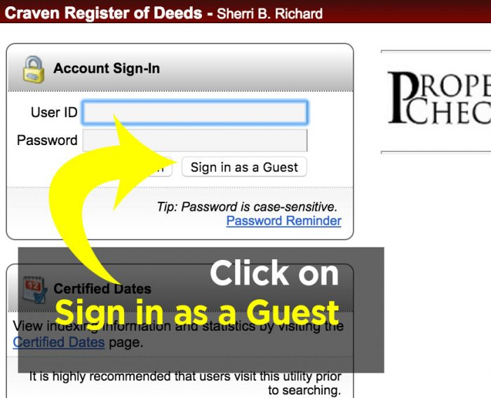 Click on Sign in as a Guest
