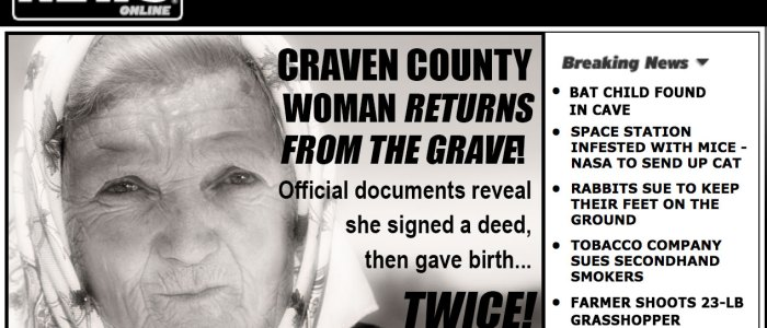 The strange tale of the Craven County woman who gave birth AND signed a deed in Pitt County in the years after her 1816 death