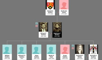 "Family Tree Fact Check: Richard Furney Gaskins & Saphronia ""Fanny"" Venters"