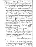 John SPEIR to William JONES (1752)
