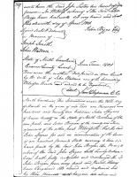 John Spyers to John Bryan (1792)