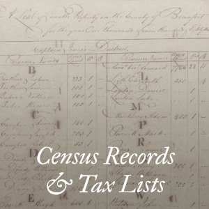 Census Records & Tax Lists