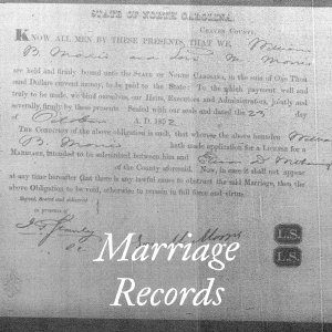 Marriage Records