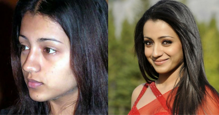 South Indian Beauties Without Makeup