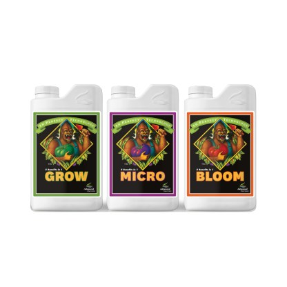Advanced Nutrients - Grow, Bloom & Micro.