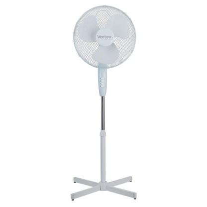 """Vortex 16"""" 400mm 3 Speed Oscillating Pedestal Fan X Base 1"""