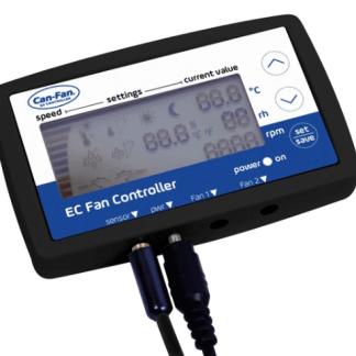Can-Fan Q-Max EC LCD Fan Controller