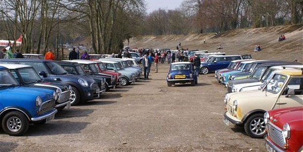 Brooklands Museum Mini Day