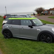 East Coast Mini Club Charity Run – end point – Southwold 4