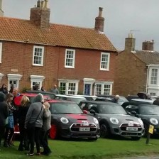 East Coast Mini Club Charity Run – end point – Southwold 17