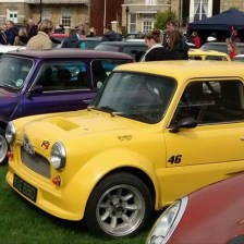 East Coast Mini Club Charity Run – end point – Southwold 19