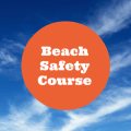 Beach Safety Course sign