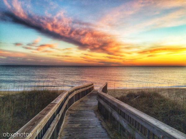 Sunrise at Ashville Drive Beach Access – January 20, 2015