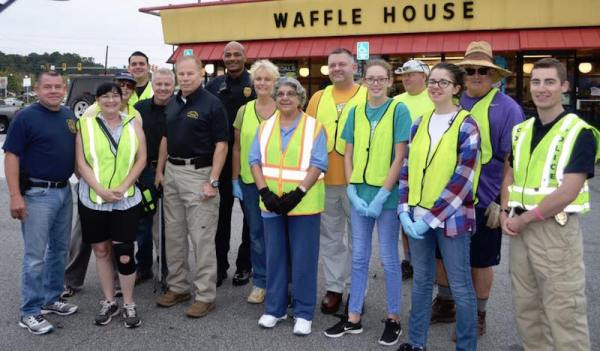 Bells Ferry Road cleanup