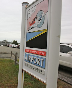 The East Hampton Airport. Everyone's favorite punching bag.