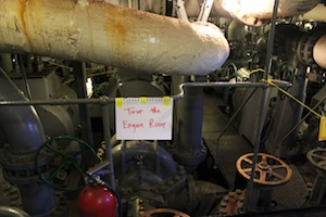 Fire Fighter's engine room